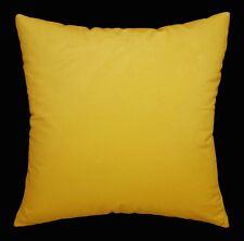 Mf14a Light Gold Yellow Silky Soft Velvet Cushion Cover/Pillow Case Custom Size