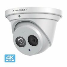 Amcrest UltraHD 8M 4K Turret PoE Dome Outdoor Security IP Camera IP8M-T2499EW