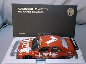 Alfa romeo 155 dtm 1:18 AUTOART