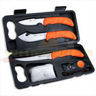 Outdoor Edge Wild Lite Knife Set 6 Piece Game Processing Pack W/ Hard Case -WL-6