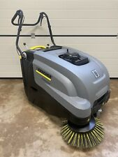 More details for karcher km 75/40 w p g petrol walk behind floor sweeper, self propelled 160cc