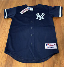 New Authentic New York Yankees Majestic Blue Paul O'Neill #21 Jersey Boys L USA