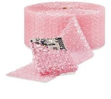 """1/2"""" Large Bubble Cushioning Wrap Anti-Static Roll Pad 1000' x 12"""" Wide 1000FT"""