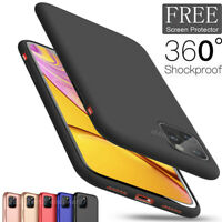 For iPhone 11 Pro MAX 2019 New Ultra Thin Slim Soft Rubber Silicone Case Cover