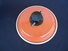 bessemer  Australia orange saucepan lid vented