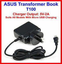 ASUS Transformer Book T100 T100TA Tablet PC 10.1 AC Wall Charger 5V-2A