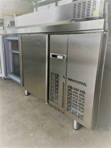 15/00209 Tiefkühltisch Infrico MR2190BT hochwertiger Edelstahl 3 Türen 625 Liter