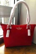 NWT Kate Spade Watson Lane Royal Red SMALL MAYA Nylon Tote Packs Flat 4Travel