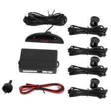 Auto Parktronic LED 4 Sensors Reverse Backup Car Parking Radar Monitor System