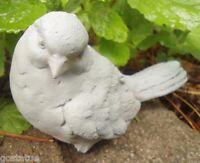 Latex only MOLD  twisted head bird mold plaster concrete casting garden mould