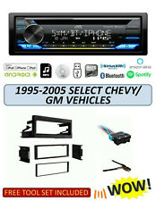 JVC KD-TD91BTS Stereo Kit for Select 1995-2005 GMC CHEVROLET Vehicles, ALEXA XM