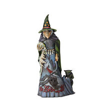 Jim Shore Heartwood Creek 'Darkness Lives Within' Halloween Witch 6001546