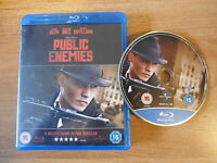 PUBLIC ENEMIES  - BLURAY - JOHNNY DEPP CHRISTIAN BALE - 5 moviestar