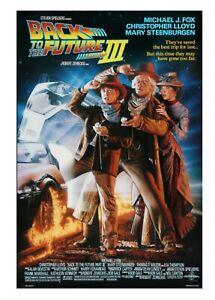 Movie Postcard - Back To The Future III - Michael J Fox 1990 - A6 NEW