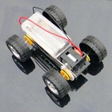DIY Mini Battery Metal Car Model Kit 12*8cm 4WD Smart Robot Tank Chassis RC Toy