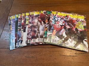12 Vintage Sooners Illustrated Magazines 1985 OU Oklahoma Football Champions