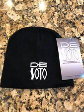 New With Tag DeSoto Toque D'Neige Snow beanie cap Black