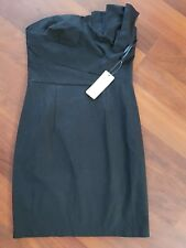 Forcast Ladies little Black strapless Dress size 8 New With Tags