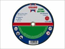 Faithfull - Cut Off Disc for Stone 300 x 3.5 x 20mm