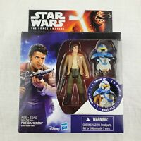 "Poe Dameron Armor Up  Sealed 3.75"" figure Star Wars Force Awakens"
