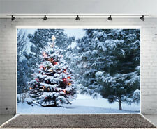 6x4ft Forest Snow Photography Background Backdrops Studio Props Vinyl