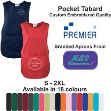 Custom Embroidered Tabard Nursery Cleaning Health Care Personalised Workwear