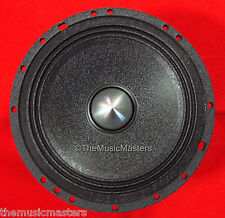 "(1) Single 6.5"" inch 6 1/2"" High Performance Car Audio HQ Woofer Sub Mid Speaker"