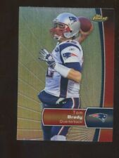 2012 Topps Finest Refractor Tom Brady New England Patriots