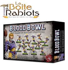 Warhammer Blood Bowl The Elfheim Eagles Equipe Union Elfique