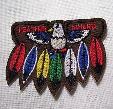 ÉCUSSON PATCH - Oiseau Aigle Plume ** 8 x 6 cm ** Applique thermocollante