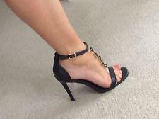 stiletto sandal high heels size 5