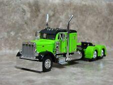 DCP 1/64 Lime Green Black Peterbilt Semi Truck Farm Toy