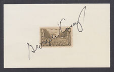 Gen. George W. Casey, Jr., Multi-National Force Commander in Iraq, signed card