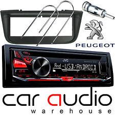 PEUGEOT 406 JVC CD MP3 USB Aux En Voiture Radio stéréo Lecteur & full fitting kit