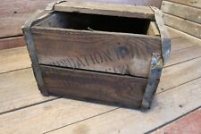 Vintage Wood Crate Box As Found, Primitive Antique!