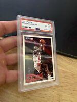 Michael Jordan PSA 6 EX 1993 Fleer #28 Last Dance GOAT INVEST Chicago Bulls MJ