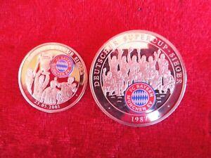 2 Médailles, Bavière Munich, Supercoupe Sieger 1987, Chanpions League 2001