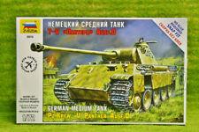 Zvezda 1/72 Scale WW2 German PANZERKAMPFW.V.PANTHER AUSF D tank