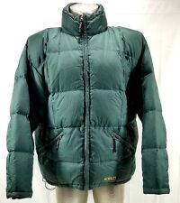 KELTY Rare Goose Down Insulated Green Puffer Jacket Full-zip Mens Size Large