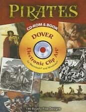 Pirates CD-ROM and Book (Dover Electronic Clip Art)