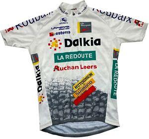 Giordana La Redoute Dalkia Roubaix Cycling Bike Jersey Shirt  Men's Medium M