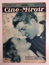 CINE MIROIR N°686 27 MAI 1938 COUV JEAN GABIN ET MICHEL MORGAN