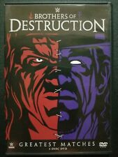 WWE: Brothers Of Destruction (DVD, 2014) The Undertaker & Kane Greatest Matches