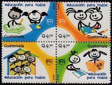 Upaep Guatemala 583/86 2007 Education pour Tous MNH
