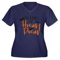 CafePress HOCUS POCUS Plus Size T Shirt V-Neck Plus Tee (2001706383)