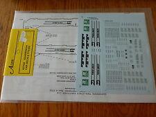 A-Line HO #27702 Gunderson Car Decals TTX/BN