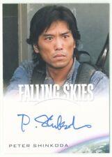 "PETER SHINKODA ""DAI AUTOGRAPH CARD"" FALLING SKIES SEASON 1"