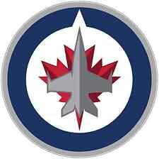 "Winnipeg Jets NHL Hockey Bumper Locker Notebook Sticker Decal 4.5""X4.5"""