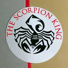The Scorpion King Soundtrack Godsmack Soad Pod Sevendust Round Amp Case Sticker