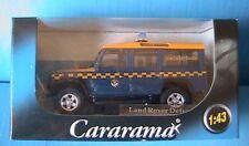 LAND ROVER DEFENDER H.M. COASTGUARD CARARAMA 1/43 4X4 LHD LEFT HAND DRIVE